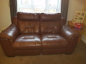 3+ 2 dfs leather recliner