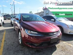 2015 Chrysler 200 S | LEATHER | ONE OWNER | PWR SEATS | BLUETOOT