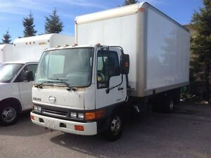 2004 HINO 185 DOCK LEVEL-G LICENSE
