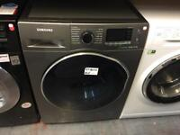 SAMSUNG WD80J5A10AX 8/6 KG WASHER DRYER ECOBUBBLE - GRAPHITE