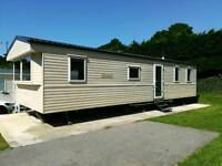 Static holiday home in Newquay holiday park