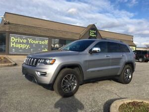 2017 Jeep Grand Cherokee Limited / LEATHER / NAVIGATION