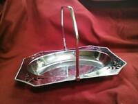 Vintage chrome/silver coloured items