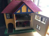 1950s dolls house