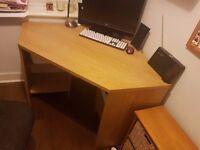 John Lewis corner desk - used - GREAT CONDITION