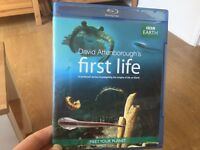 BBC David Attenborough's First Life documentary on BLU RAY