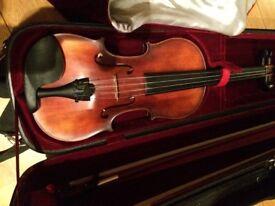 Full size antiqued Concertante violin