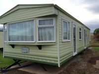 Cosalt Rimini caravan 2 bed - Double Glazed, Centrally Heated - Site fees inc until 2018 season