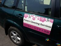 Self employed cleaner