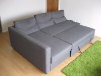Corner sofa bed with storage - IKEA FRIHETEN - excellent condition