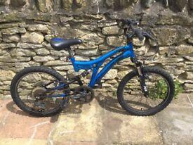 "Boys 20"" muddy fox bike"