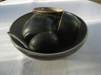 8 piece potters studio presentation nut bowl, a classic addition to your cocktail bar