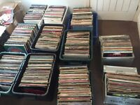 1544 Job Lot Off Vinyl Records .
