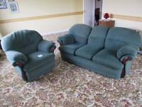 3 seater Sofa & matching Recliner Armchair