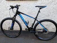"Cube Aim Race 29er Mountain Bike 21"" (XL Frame 5""8 - 6""2Inch)"
