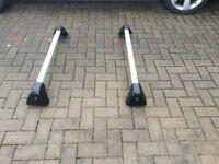 Vauxhall roof bars - used on my Astra 2012