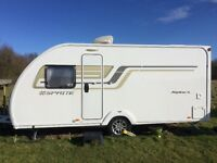 Sprite Swift alpine 4 caravan unused