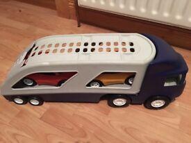 Little tikes transport lorry
