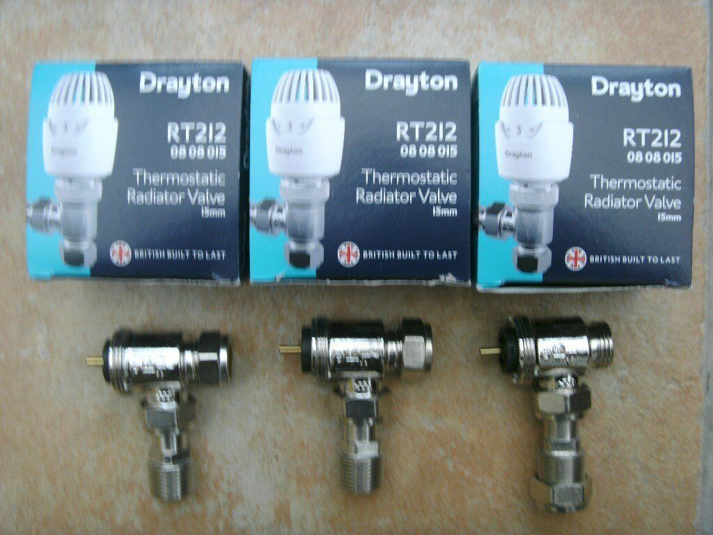 Drayton RT212 Thermostatic Radiator Valves. | in Salisbury ...