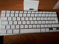Apple ipad keyboards dock