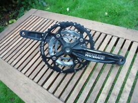 Raceface Ride XC Crankset and Bottom Bracket 9 speed 27 speed will also work with 24 speed