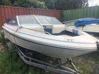 Searay 16.5ft speedboat project