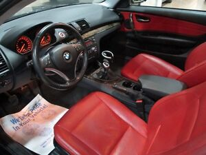 2009 BMW 135 i RED LEATHER SUNROOF