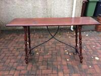 Console table 5ft long 3 ft tall. Can deliver
