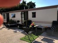Static caravan mobile home 35' x 12 three bedroom
