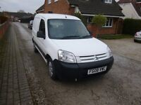 2008 CITREON BERLINGO 1.6 HDI VAN WHITE 12 MONTH M.O.T.