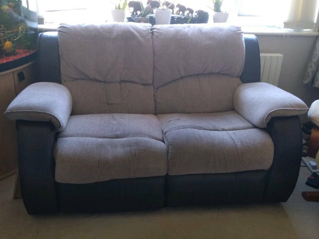 Charleston Two Seater Recliner Sofa