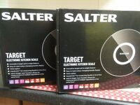 Salter target kitchen scales