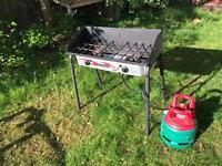 2 burner camping/BBQ range (Yukon 60)