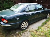JAGUAR XTYPE 2LTR DIESEL GREAT FUEL ECONOMY BARGAIN PRICED TO SELL