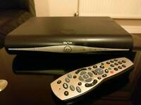 Sky HD+ box with remote on sale