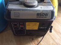 Small 850w Generator.
