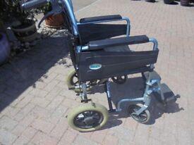 Days Escape Lightweight Alloy Push along Wheelchair