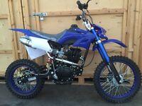 150cc DMX Pit bike. New 2016 model. Electric / Kick Start Free Delivery