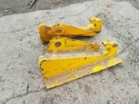 Selection of tractor front loader brackets Massey Ferguson tractor etc