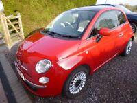 Fiat, 500, Hatchback, 2014, Manual, 1242 (cc), 3 doors