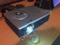 Sanyo PLC-SW30 Portable LCD Projector - Low Hours!! Cables Included!!