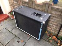 Vintage Acoustic Control Corporation Model 402 2x15 Speaker Cabinet - Guitar + Bass Cab 4Ω @ ??Watt
