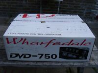 WHARFEDALE 750 DVD PLAYER BOXED