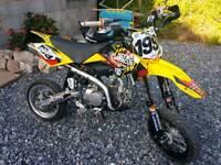 Ycf 125 road legal supermoto pit bike