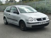 2004 VW POLO 1.2 * 3 DOOR * PETROL* IDEAL FIRST CAR * LONG MOT * P/X * NATIONWIDE DELIVERY