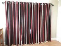 Beautiful full length pr of curtains