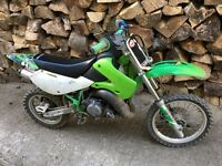 KX 65 Swaps with Downhill bike