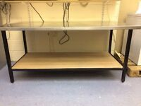 Stainless Steel Prep Table 1825mm x 2