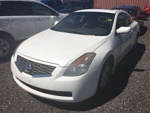 2008 Nissan ALTIMA COUPE 2.5 S CVT You Certify You Save . SOLD A