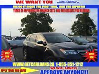 2007 Acura MDX TECH PACKAGE PAY $108.16 WEEKLY ZERO DOWN